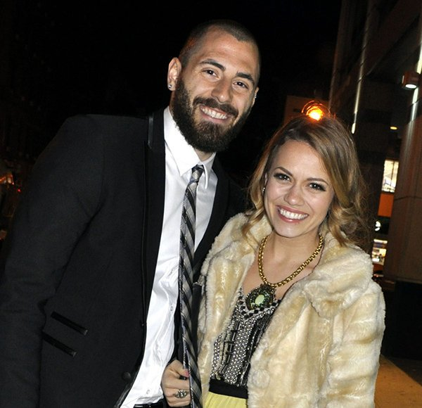 Michael Galeotti and his ex-wife