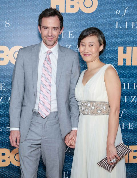 nathan darrow and his wife
