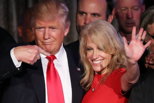 conway and trump