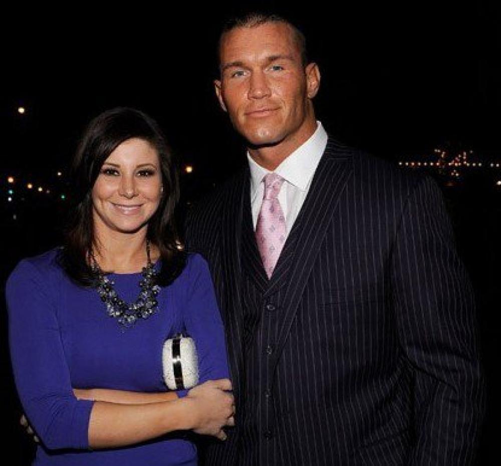 samantha speno and ex husband Randy Orton