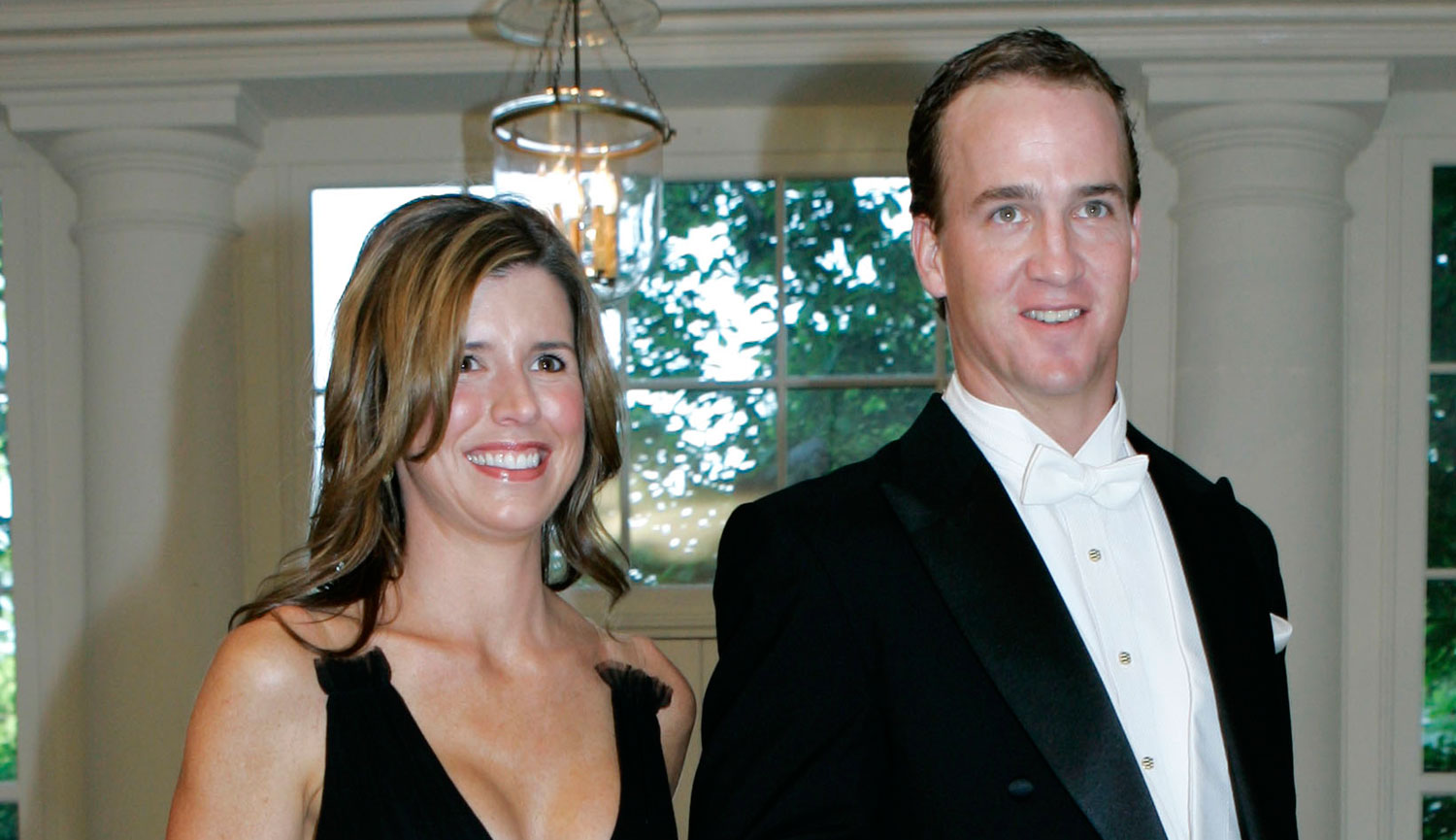 manning and his wife