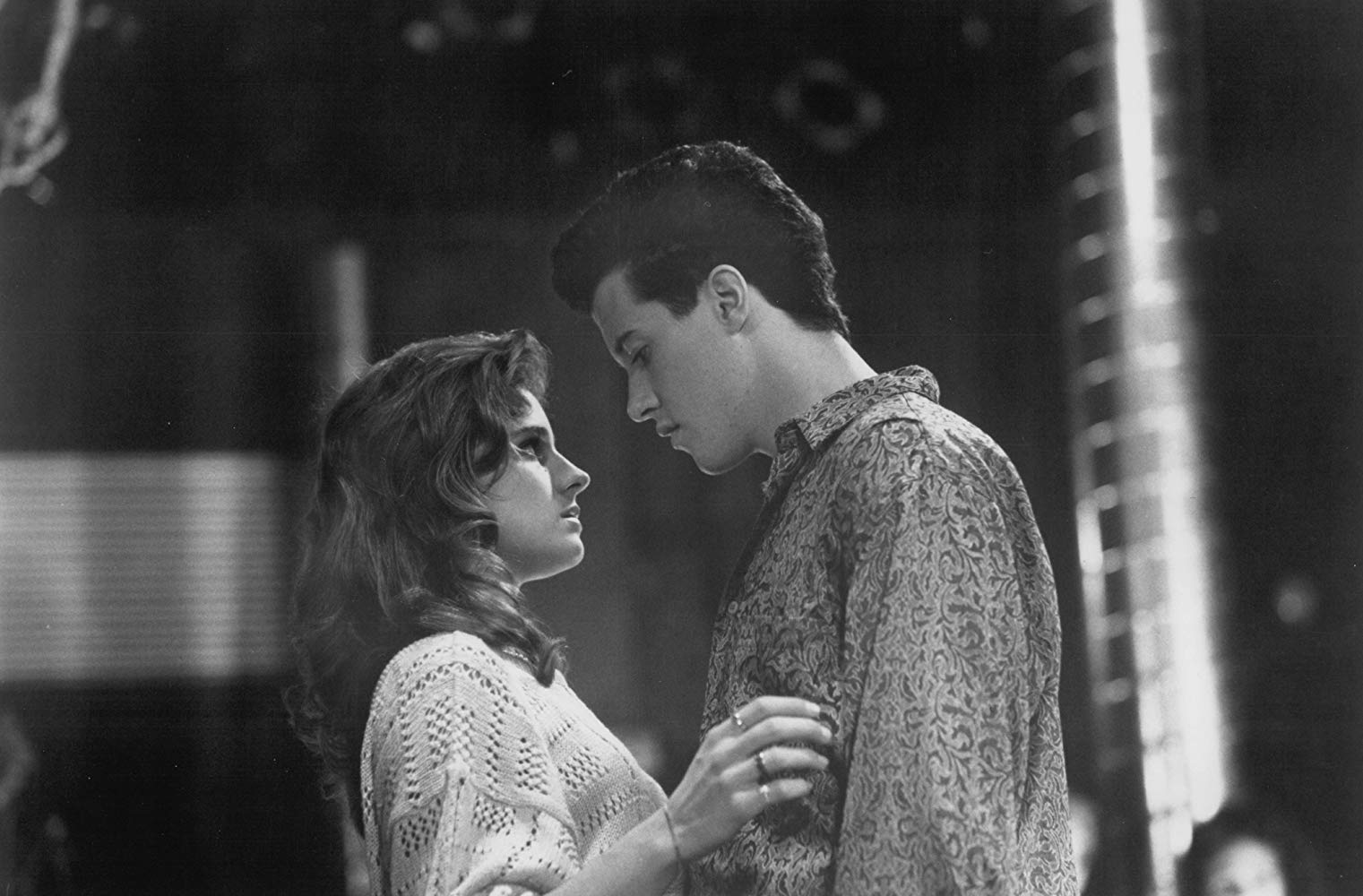 Peter Dobson and Jessica Steen in Sing (1989)