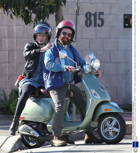 Zach Galifianakis and Quinn Lundberg