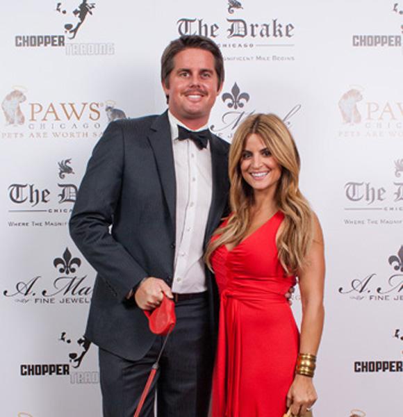 Alison Victoria with her husband Luke Harding