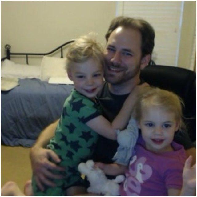 Ryan with his children