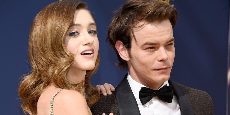 Natalia Dyer and her boyfriend