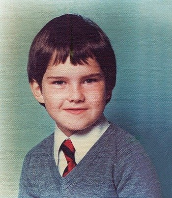 Young Jimmy Carr