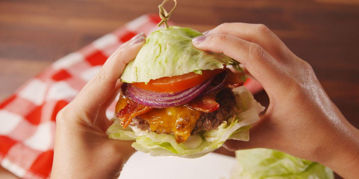 lettuce burger