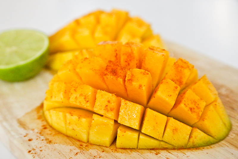 mango with chili