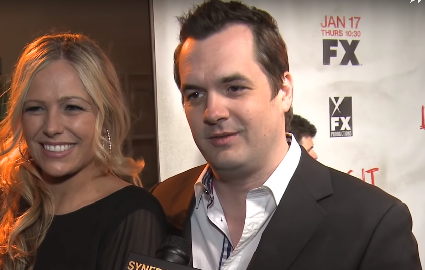 Jim Jefferies and his ex-girlfriend