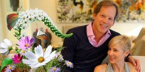 Traylor Howard with her current husband John Portman