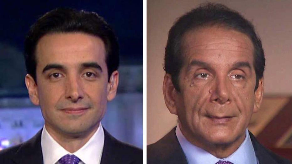 Daniel and his father Charles Krauthammer