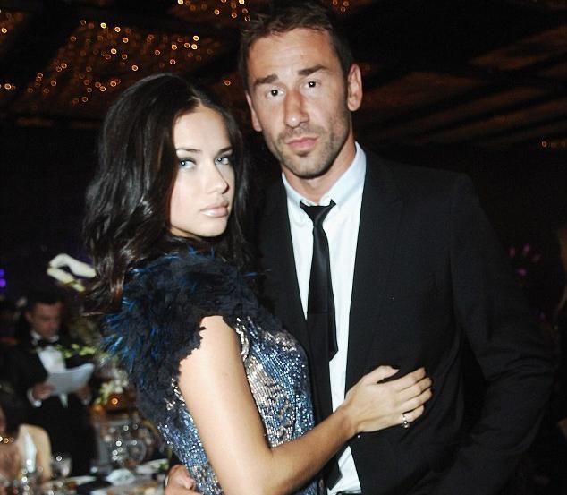 Adriana and her husband