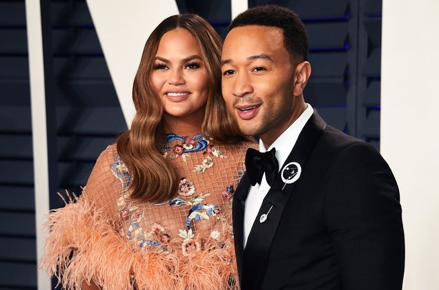 Chrissy and husband John Legend