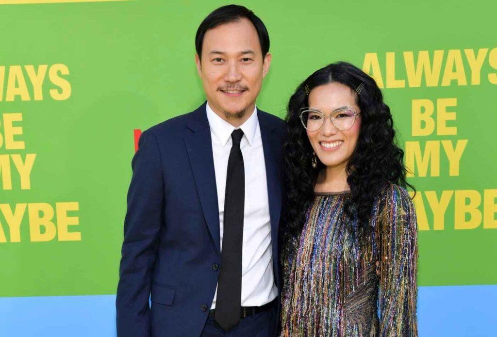 Justin Hakuta and Ali Wong