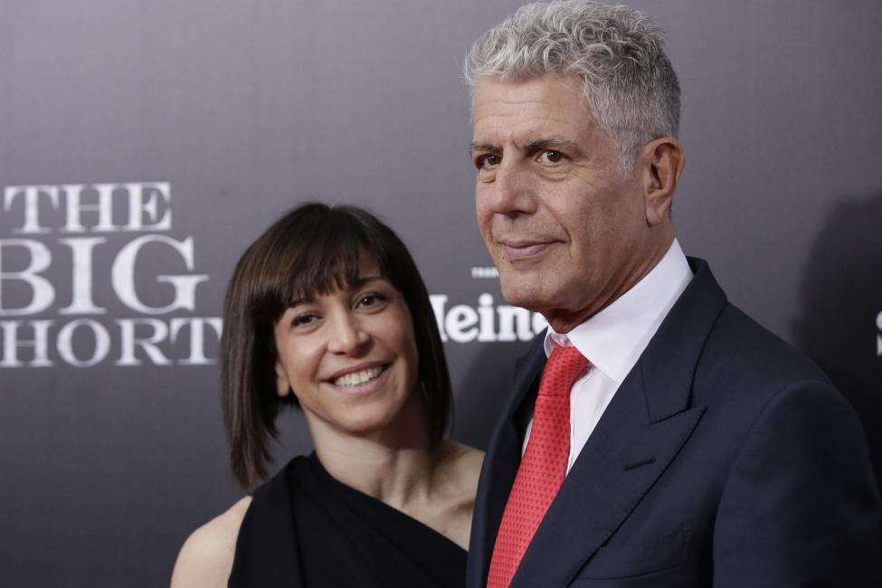 anthony bourdain and wife