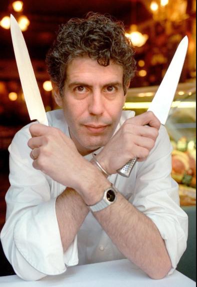 chef Anthony Bourdain