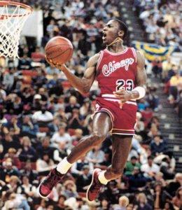 Michael Jordan feature