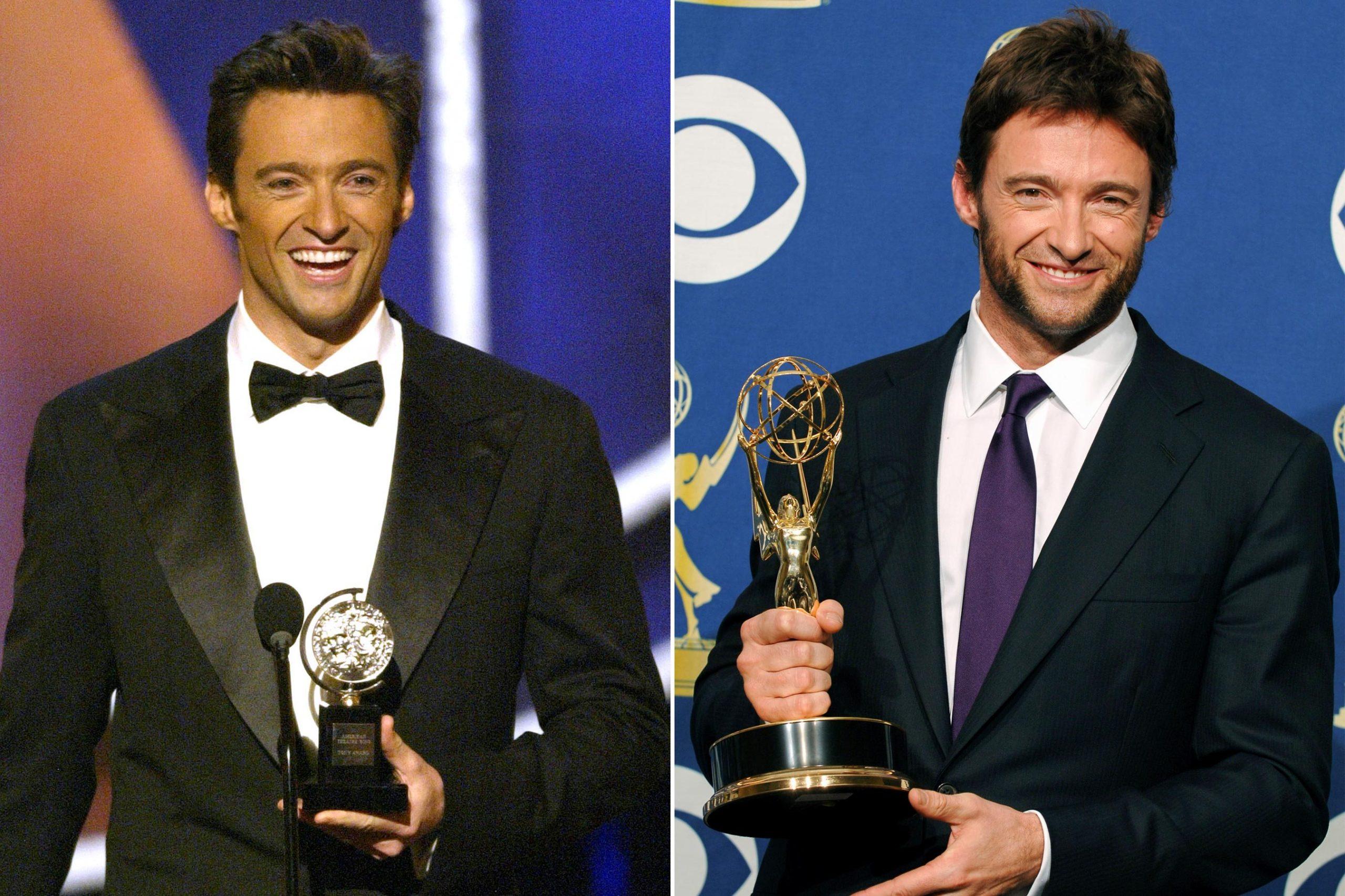 Hugh Jackman wins Emmy