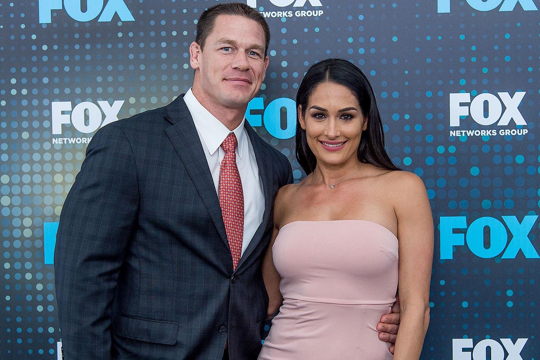 Cena with his ex Nikki Bella