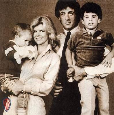 Seargeoh Stallone's family