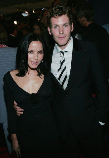 Shaun Evans with Andrea Corr