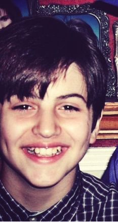 Mitch Grassi in his childhood