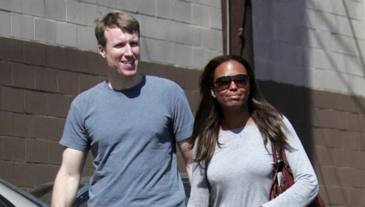 Aisha and ex-husband Jeff