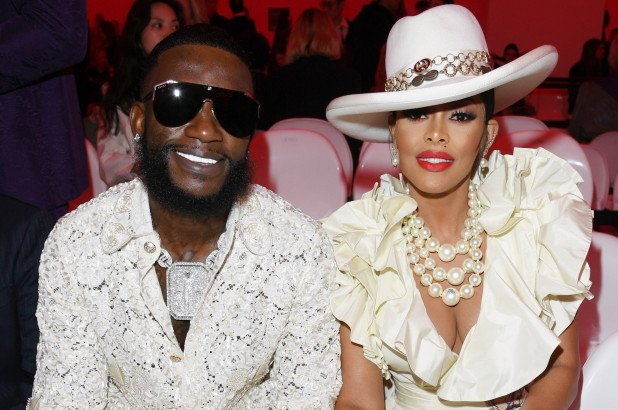 Gucci Mane and his wife Keyshia Ka'oir