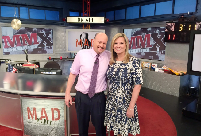 Jim Cramer with wife Lisa