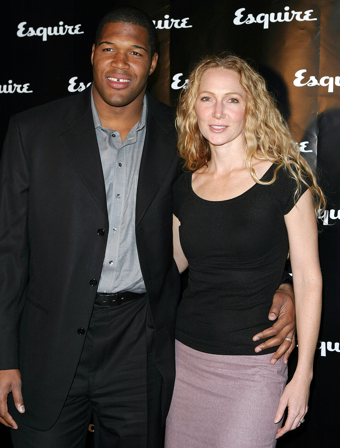 Michael Strahan with his ex wife