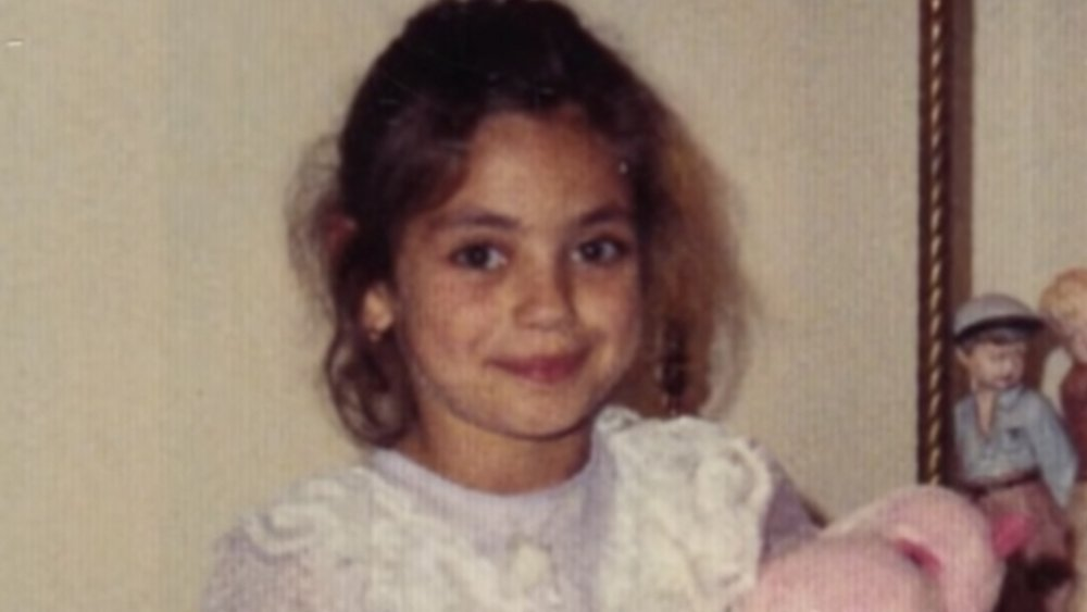 Mila in her childhood