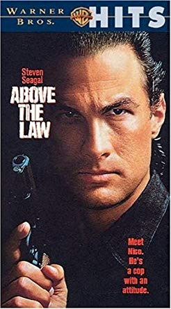 Seagel in the movie 'Above the Law'