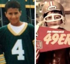 Kaepernick ih his childhood