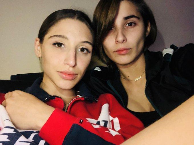 Abella Danger with partner Gabby G