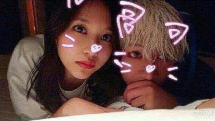 Bam Bam and Twice's Mina