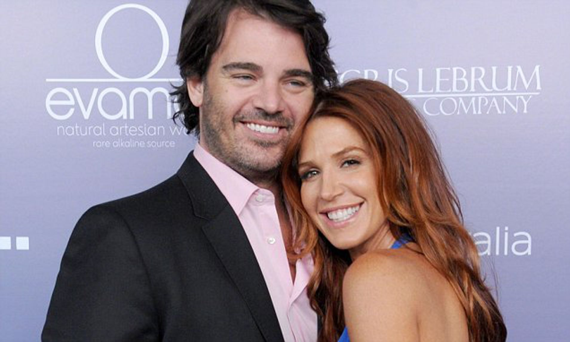 Shawn Sanford with his wife Poppy Montgomery
