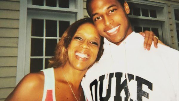 William Bumpus with Gayle King