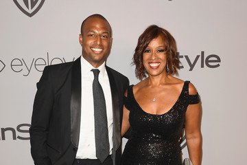 William Bumpus with his ex wife Gayle King