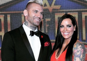 Amy Polinsky and ex-husband Corey Graves