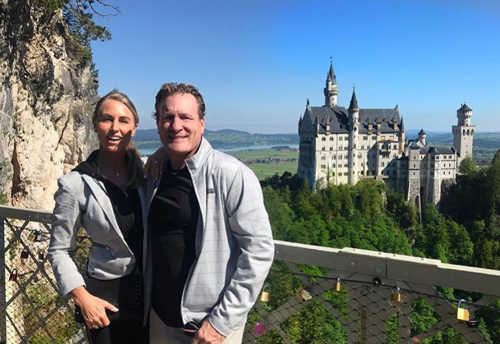 Jeremy Roenick and wife Tracy