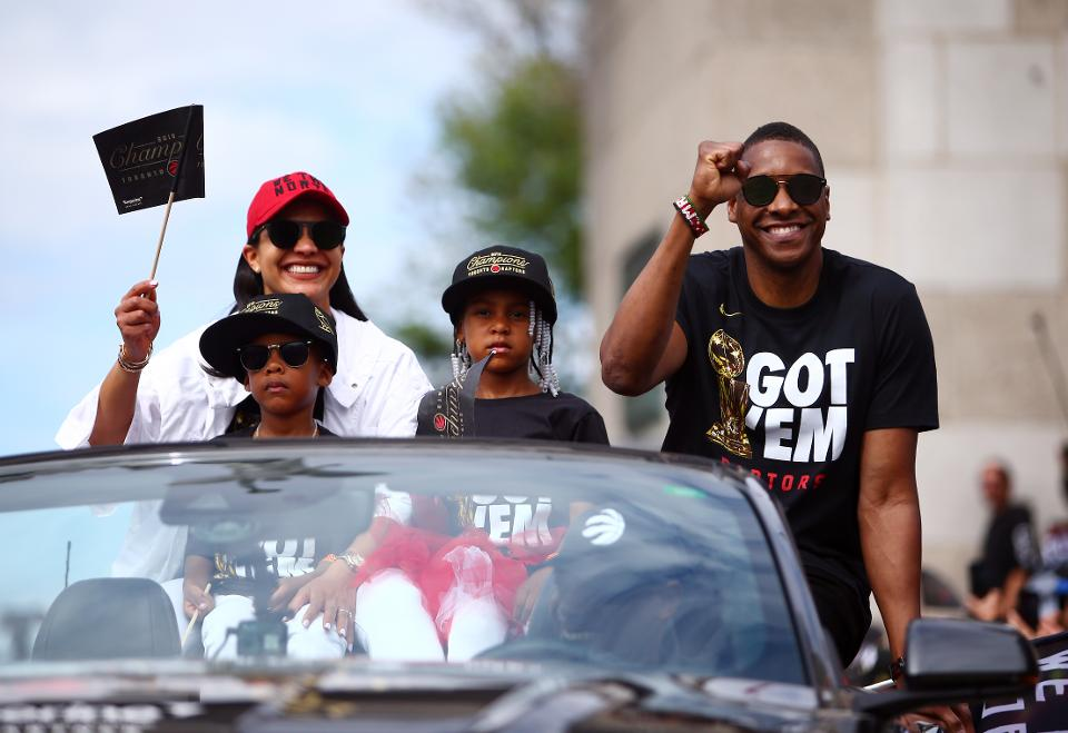 Ujiri with her family