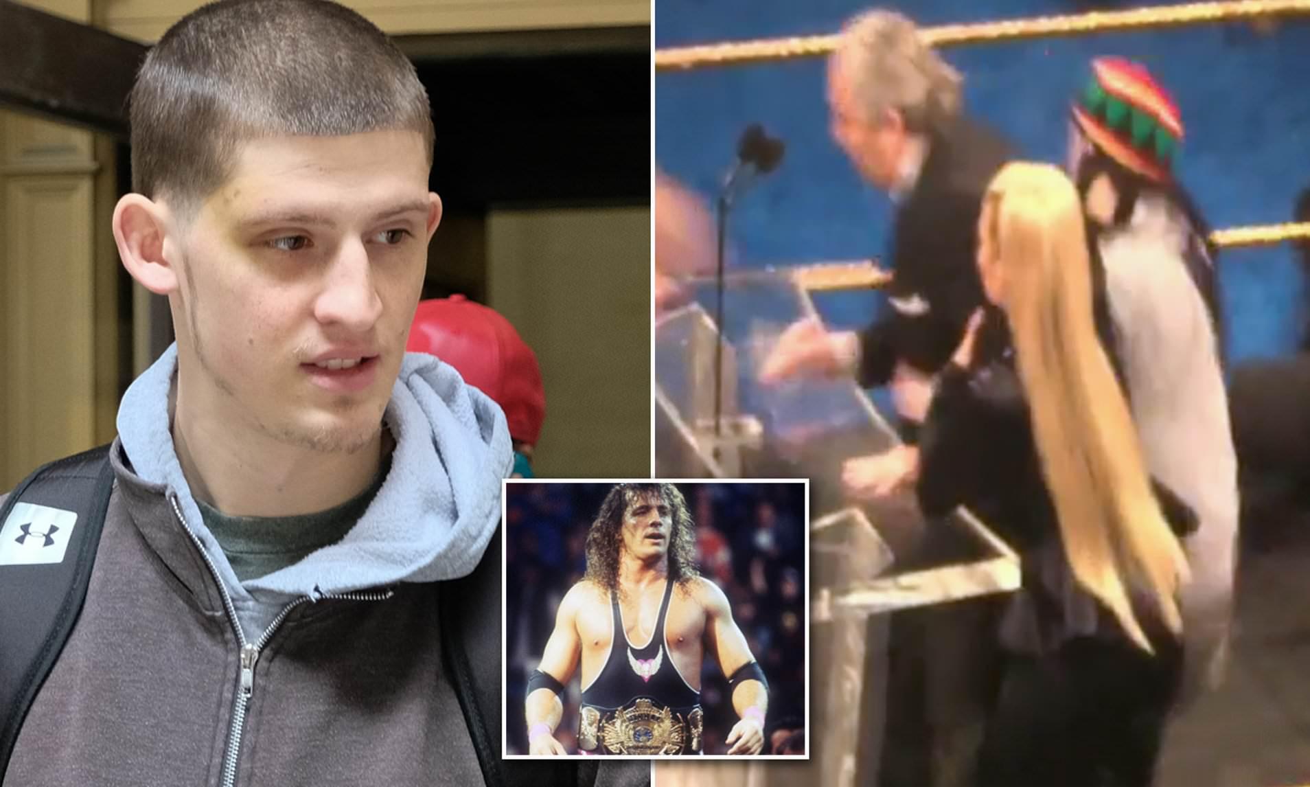 Madsen attacked legendary wrestler Bret 'The Hitman'