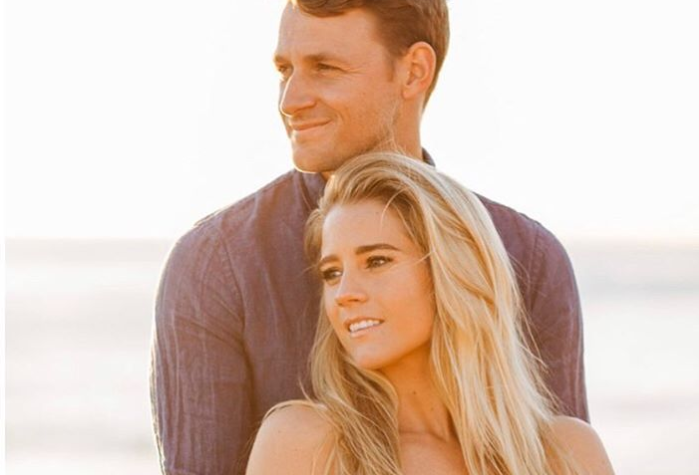 Ben Wierda and wife Cassidy Gifford