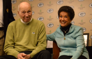 Cherry Louise Morton and Bart Starr1