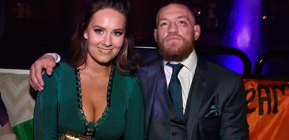 Dee Devlin with her boyfriend Connor McGregor