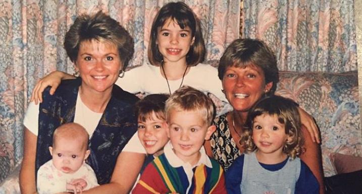 Ellie's childhood photo