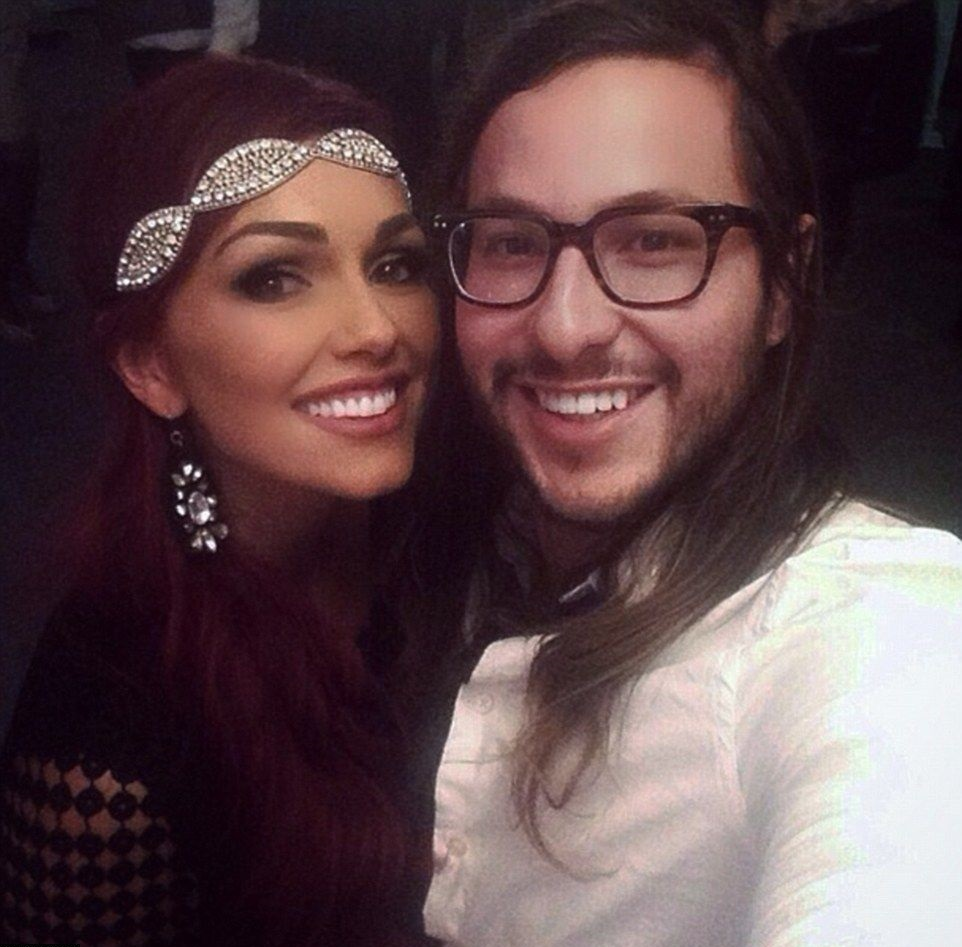 Kandee Johnson and Michael Castro