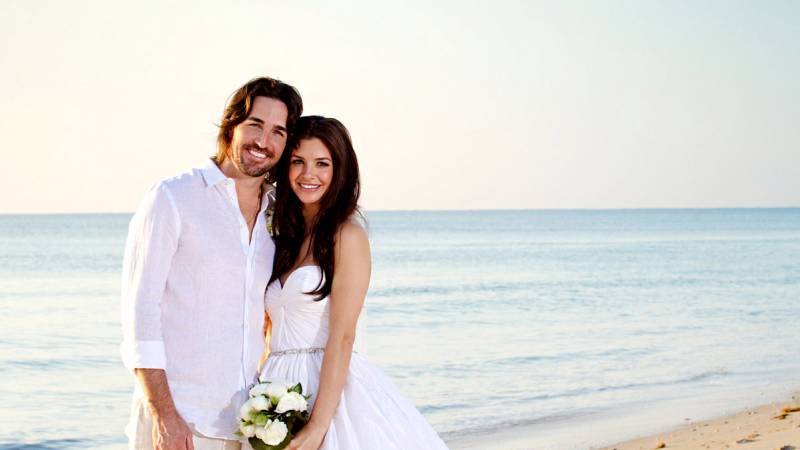 Lacey Buchanan and ex-husband Jake Owen