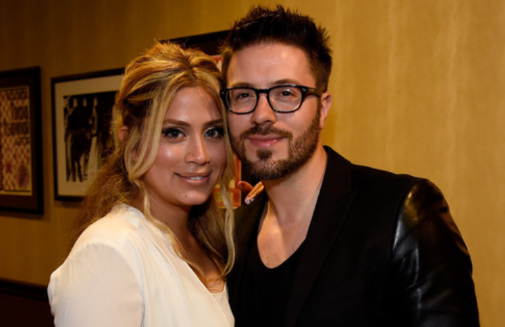 Leyicet Peralta and husband Danny Gokey